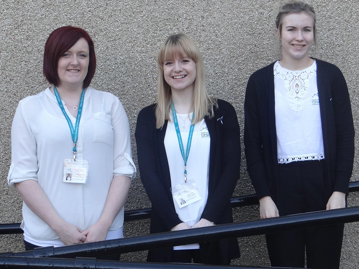 Modern Apprentices feel right at home at OHAL